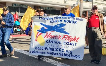 Veterans in the Pismo Clam Festival parade