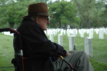 Veteran at Arlington Cemetary
